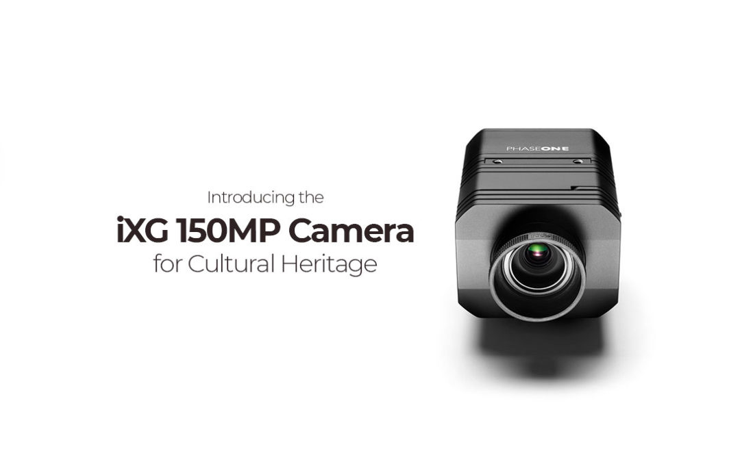 Announcing the New Phase One iXG 150 MP Cultural Heritage Camera